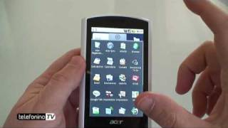 Acer liquid videoreview da Telefonino.net