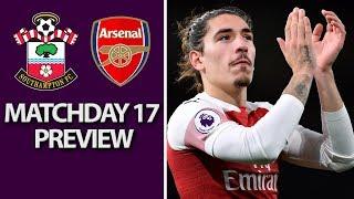 Southampton v. Arsenal   PREMIER LEAGUE MATCH PREVIEW   12/16/18   NBC Sports