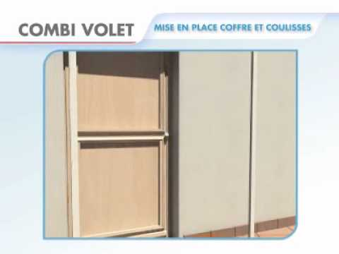 installation volet roulant tirage direct renovation applique combi volet youtube. Black Bedroom Furniture Sets. Home Design Ideas