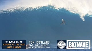 Tom Dosland at  Jaws - 2016 TAG Heuer Wipeout Award Nominee - WSL Big Wave Awards