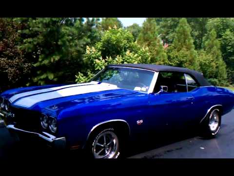 1970 Chevelle 454 SS , Convertible, 5 speed, 750hp - YouTube