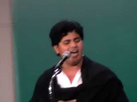 Imran Pratapgarhi Dubai Mushaira 30 01 2014  Mai Falasteen Hun Mai Falasteen.... video