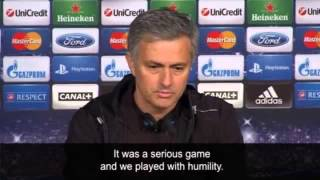 José Mourinho Galatasaray need miracle after Real victory  video