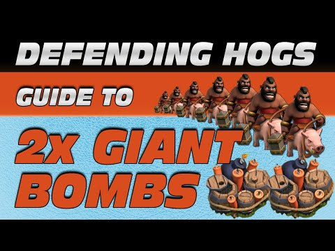 Defending Hog Riders: A Double-Giant Bomb Tutorial