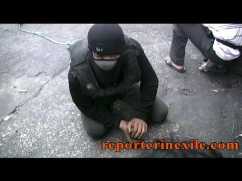Video of Bon Kai's street pyrotechnics during the Bangkok crisis