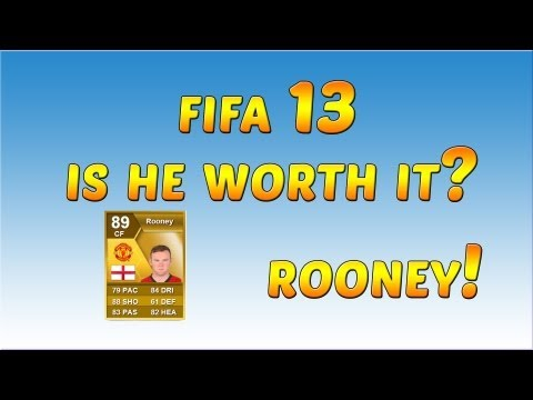 FIFA 13 Ultimate Team Player Review - Rooney!