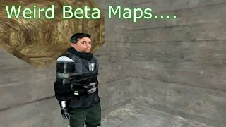 So I played some weird Half-Life 2 beta maps....