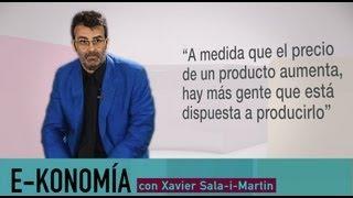 ¿Qué es la ley de la oferta?   Xavier Sala-i-Martin