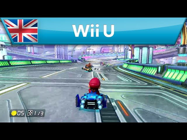 Mario Kart 8 - 200cc Mode - Mute City (Wii U)