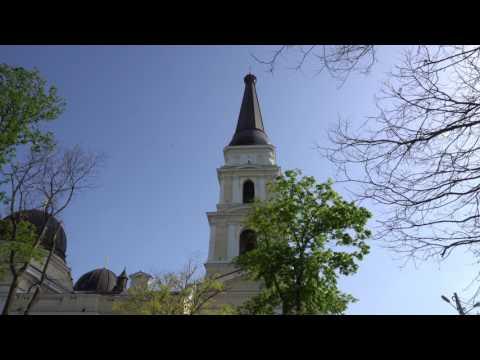 Весна в Одессе 4К! Spring in Odessa 4K!
