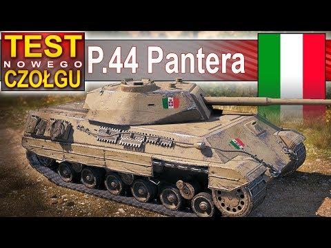 P.44 Pantera - pierwszy z doładowaniem - World of Tanks