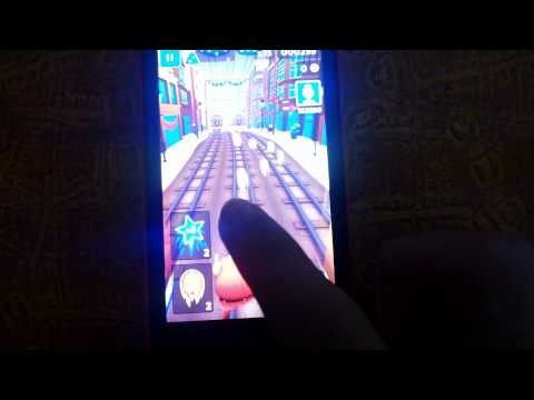 NOKIA LUMIA 512MB RAM SUBWAY SURFERS AND TR2!!!