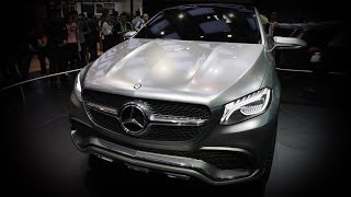 2016 Mercedes-Benz Concept Coupe SUV: 2014 Beijing Motor Show