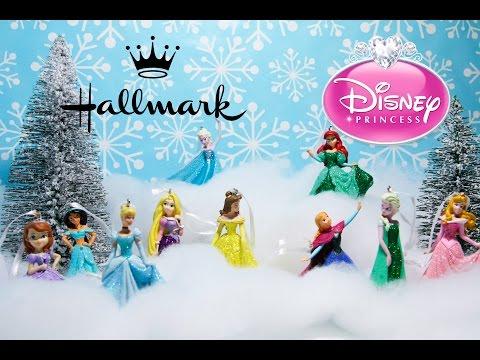 Hallmark Disney Princess Christmas Tree Ornament Collection