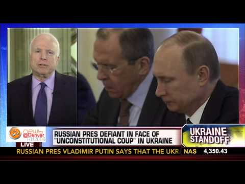 McCain China Will Follow Putin With 'More Aggressive' Actions  3-4-2014