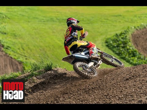 Dean Wilson and Tommy Searle ride the 2017 MXoN  Matterley Basin track