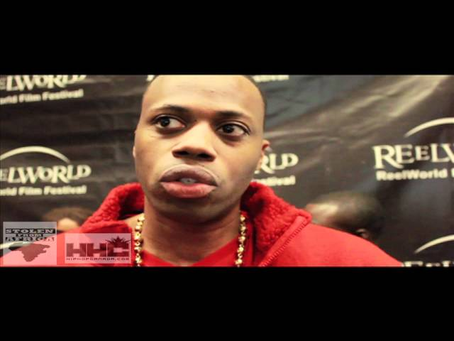 Kardinal Offishall Interview- Reelworld Film Festival 2012 #stolenfromafrica