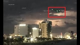 A Closer look at the UFO recently spotted over Myrtle Beach South Carolina – Paranormal News