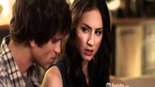 Pretty Little Liars - 2x10 - Spencer and Toby. Ian