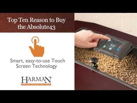 Harman® Absolute43 Pellet Stove: Top 10 Reasons to Buy Video