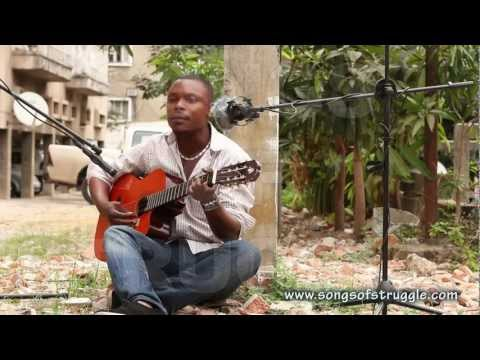 Jack rapping about life in Kinshasa - Songs of Struggle