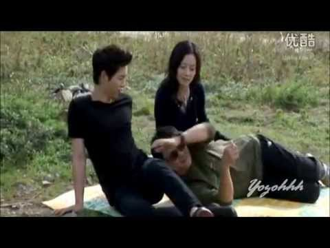 SONG JOONG KI & MOON CHAE WON  (ChaeKi Couple)  Cute Moment @ Nice Guy BTS