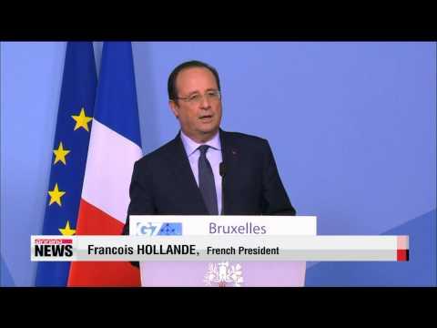Western leaders resume G7 talks in Brussels