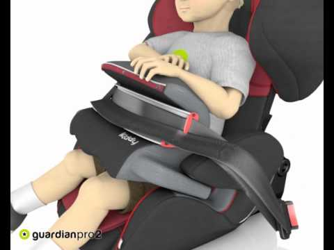 Si ge auto groupes 1 2 et 3 guardian pro 2 de kiddy youtube - Siege auto inclinable 123 ...