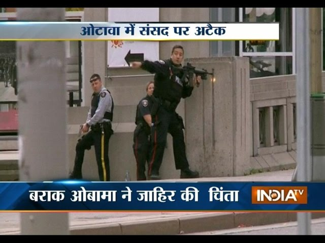 """Attack on Canadian Parliament """"extremely disturbing"""": Modi"""