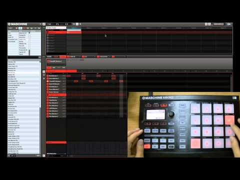 Using Step Mode in Maschine to Create Patterns