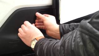 Видео: Установка защиты радиатора Mazda cx5 черная