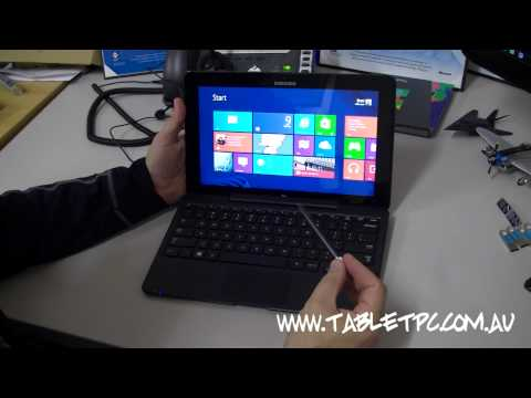 Samsung ATIV Smart PC Pro Windows 8 Tablet Review - 256Gb 3G Australian Version