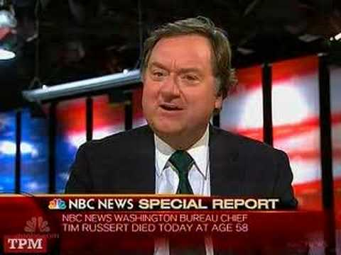 Nbc Tim Russert Death of Tim Russert