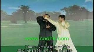 Tai Chi Sparring & Capture Overwhelming Skills KF716-3coohk