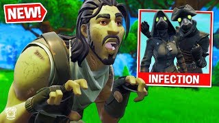 *FUNNY* ZOMBIE-INFECTED Custom Gamemode in Fortnite Battle Royale! *SEASON 6*