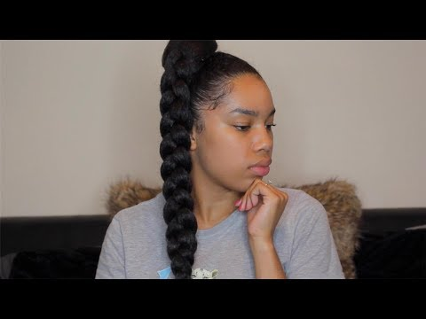 Jumbo Braid Ponytail with Kanekalon Hair