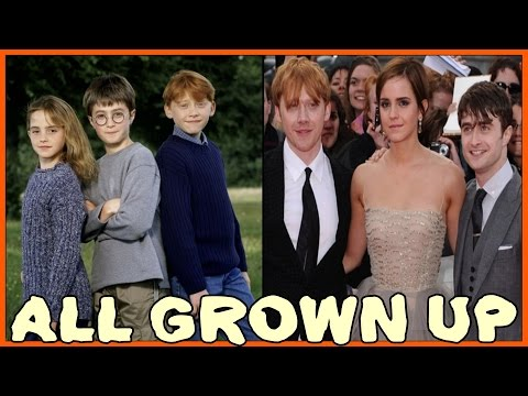 Harry Potter Tribute - All Grown Up - Now and Then