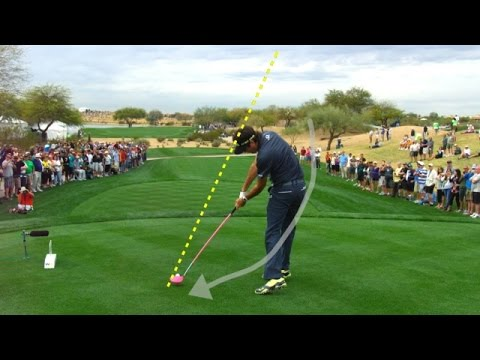 Bubba Watson's slo-mo swing is analyzed at RBC Canadian