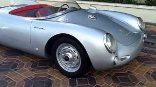 1955 porsche 550 speedster replica At Celebrity Cars Las Vegas
