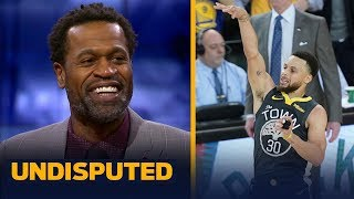 Steph Curry was the reason the Warriors won Game 2 – Stephen Jackson   NBA   UNDISPUTED