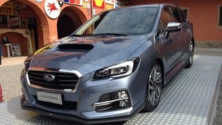 NEW SUBARU LEVORG 2016 - PREMIÈRE AND FIRST TEST DRIVE