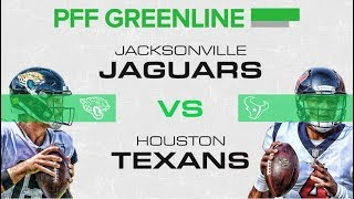 Jaguars vs Texans: PFF Greenline | PFF