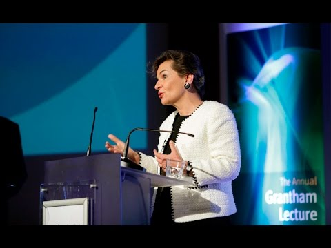 Transforming growth: Climate policy today for a sustainable tomorrow - Christiana Figueres