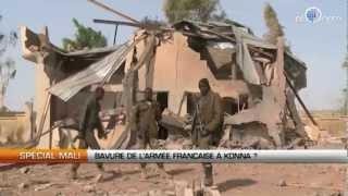 Mali : Bavure de l'armée française à Konna ?