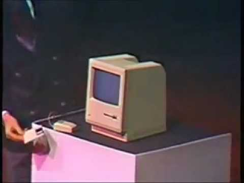 Una de las primeras macintosh (1984) Apple