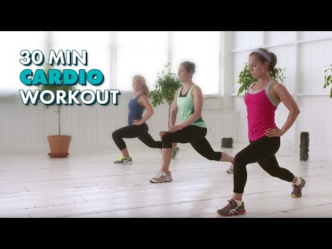 30-minute Cardio - The Cafemom Studios Workout video