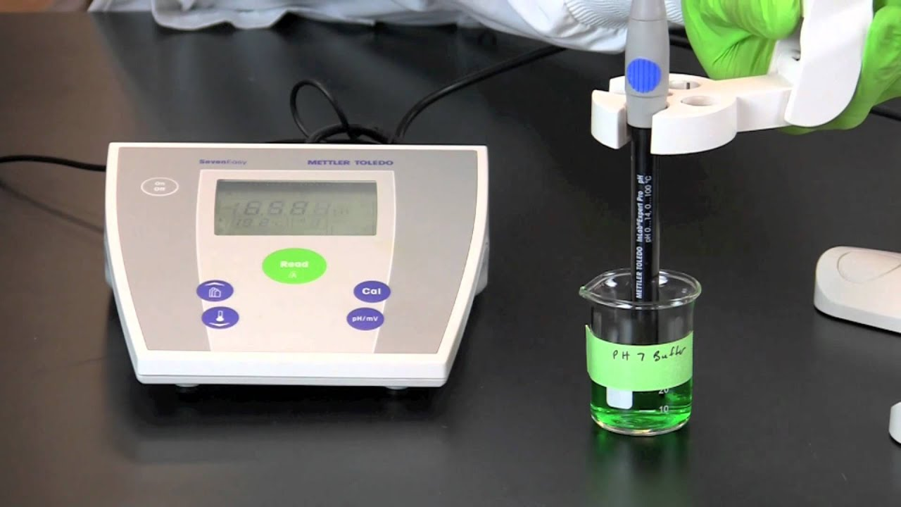 Using A Ph Meter Youtube