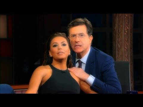 Eva Longoria & Stephen Give The Presidential Race A Soap Makeover