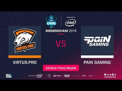 Virtus.pro vs paiN, ESL One Birmingham, game 2 [Jam, Lex]