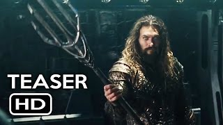 Justice League Trailer #1 Aquaman Teaser (2017) Gal Gadot, Ben Affleck Action Movie HD